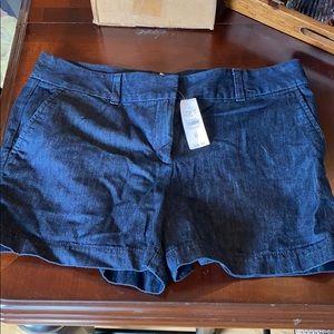 Loft denim shorts